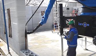 استفاده از فناوری پرینت سه بعدی در صنعت ساختمان ترکیه