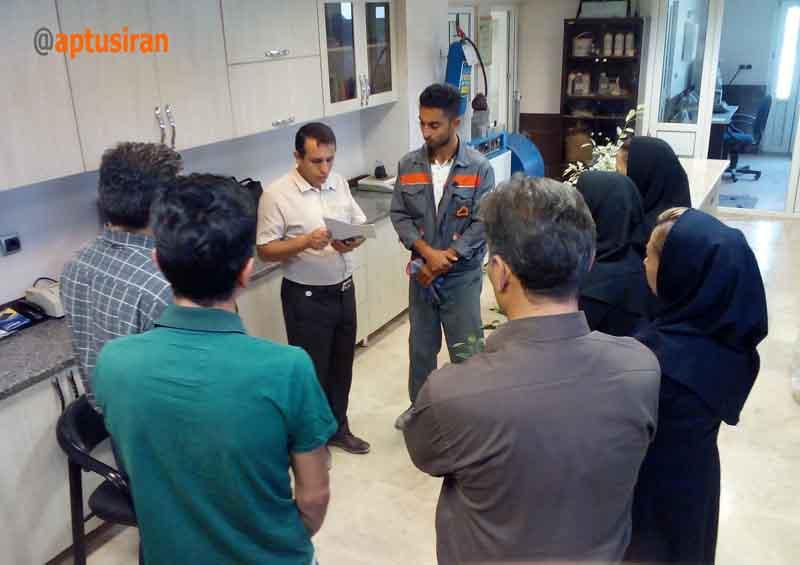 برگزاری کارگاه عملی ایزو 17025 در شرکت آپتوس ایران