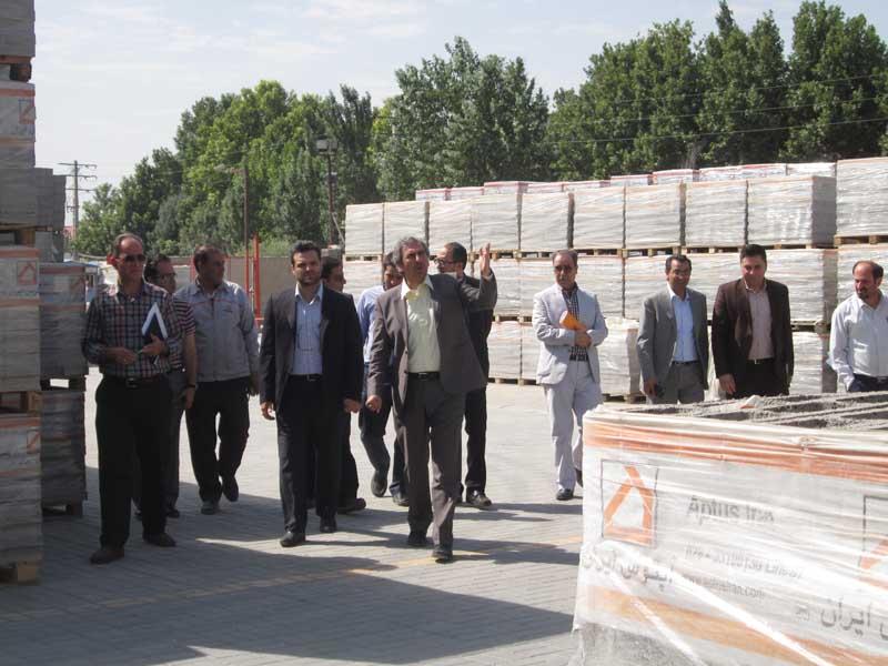 برگزاری جلسه کمیته کنترل کیفیت مصالح ساختمانی استان البرز به میزبانی شرکت آپتوس ایران